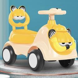 BoBDoG 巴布豆 儿童带音乐灯光四轮扭扭车