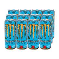 Monster 魔爪 芒果味风味饮料 维生素饮料 330ml*24罐 整箱装 *2件