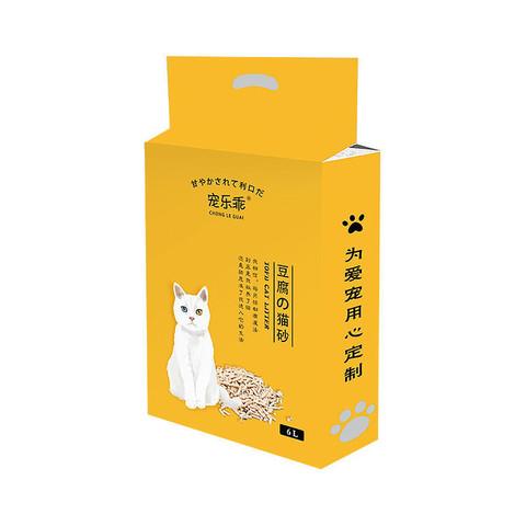 CHONGLEGUAI 宠乐乖 豆腐猫砂柠檬味