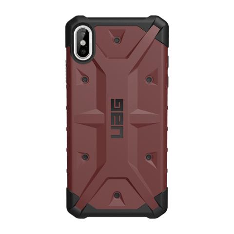 数码配件节:UAG 探险者系列 苹果 iPhone Xs Max 手机保护壳 暗红色