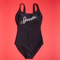 SPEEDO 速比濤 8-10943 女式泳衣 黑色810943D261  34(160/85)