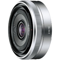 SONY 索尼 E 16mm F2.8 广角定焦镜头 索尼E卡口 49mm