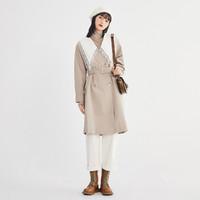樂町甜美風衣2021春季新款風衣女中長款小個子寬松