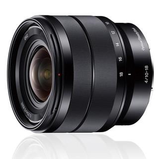 SONY 索尼  E 10-18mm F4 OSS 广角变焦镜头 索尼E卡口 62mm