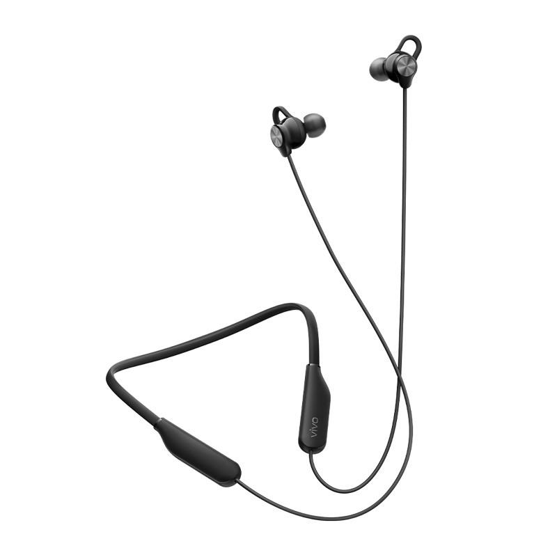 vivo HP2154 入耳式颈挂式蓝牙耳机 黑色