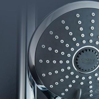 GROHE 高仪 维达利系列 进口淋浴花洒组合 27333000花洒+23348000实心下出水龙头