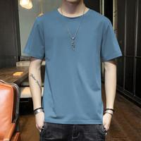 KRXSJO 男士圆领短袖 蓝色 S(多款可选)