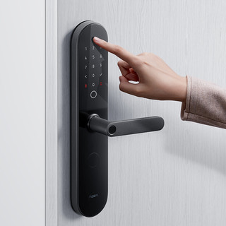 Aqara 绿米联创 N100 智能门锁 碳素黑