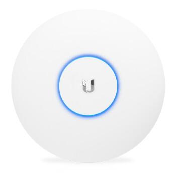 UBNT优倍快UniFi UAP-AC-LR企业级远距离室内千兆双频无线AP酒店家用吸顶WiFi覆盖 包含POE电源适配器