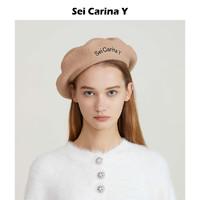 Sei Carina Y 孔雪儿同款 女士贝雷帽 17aw-4