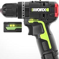 WORX 威克士 WU131.2 无刷锂电冲击钻 2.0Ah 单电版