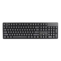 irok 艾石头 FE 104 104键 有线机械键盘 黑色 国产红轴 无光