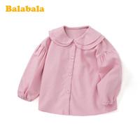 巴拉巴拉 女宝宝衬衫秋装
