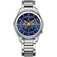 CITIZEN 西铁城 漫威系列 EM0596-58W 女士光动能手表