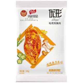 ishape 优形 电烤鸡胸肉 奥尔良味 100g*10袋