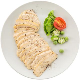 ishape 优形 沙拉鸡胸肉组合装 2口味 100g*6袋(原味100g*2袋+黑胡椒味100g*2袋)