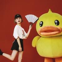 B.Duck 故宫宫廷文化联名 女士短袖T恤