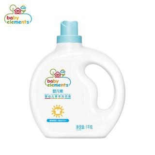 婴元素 婴儿草本洗衣液 1KG