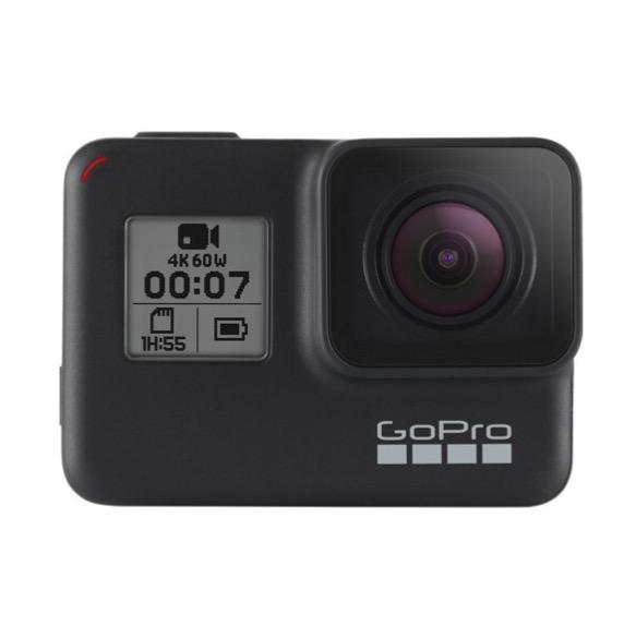 GoPro HERO7 Black 运动相机 裸机防水 黑色