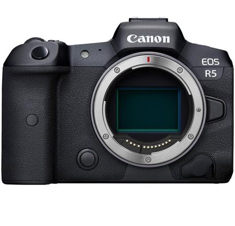 Canon 佳能 EOS R5  8K微单相机 微单机身 旗舰型全画幅专业微单 配合镜头实现双重8级防抖 动物检测