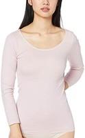 GUNZE 郡是 打底衫 HOTMAGIC 集中保暖无缝 8分袖 MH9446P 女士
