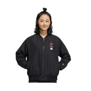 adidas NEO 21新春系列 W CNY WW PD JKT 吾皇万睡联名 女子运动棉服 GS5185