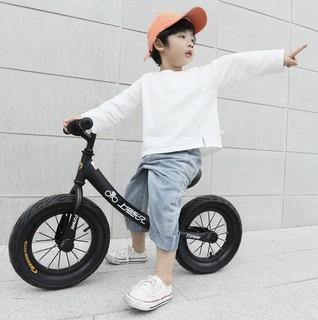 FOREVER 永久 儿童滑行车 磨砂黑 发泡轮款