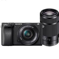 SONY 索尼 Alpha 6400L APS-C画幅 微单相机 黑色 E PZ 16-50mm F3.5 OSS 变焦镜头+E 55-210mm F4.5 OSS 变焦镜头 双头套机