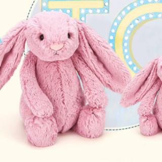 jELLYCAT 邦尼兔 害羞系列 柔软大耳朵害羞邦尼兔郁金香 粉色 36cm