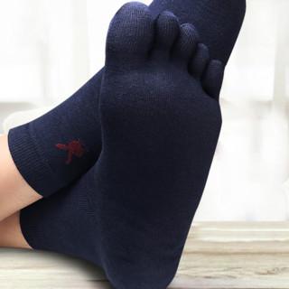 PLAYBOY 花花公子 男士中筒五指袜套装 2999 5双装
