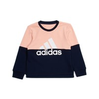 唯品尖货:adidas 阿迪达斯  女童拼色卫衣