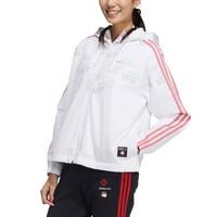 adidas NEO 21新春系列 W CNY WW JKT 吾皇万睡联名款 女子运动夹克 GP5756