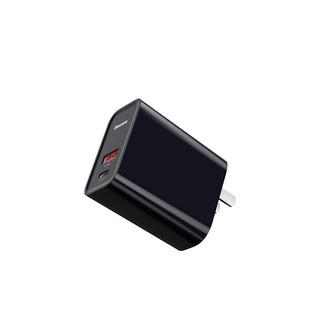 BASEUS 倍思  BS-EH905 手机充电器 Type-C 30W 黑色