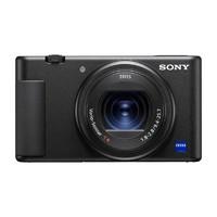 SONY 索尼  ZV-1 1英寸数码相机(9.4-25.7mm、F1.8)黑色