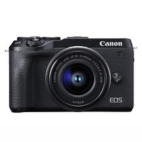 Canon 佳能 EOS M6 Mark II APS-C画幅 微单相机