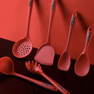 厨之策 抑生菌系列 七件硅胶铲勺套装