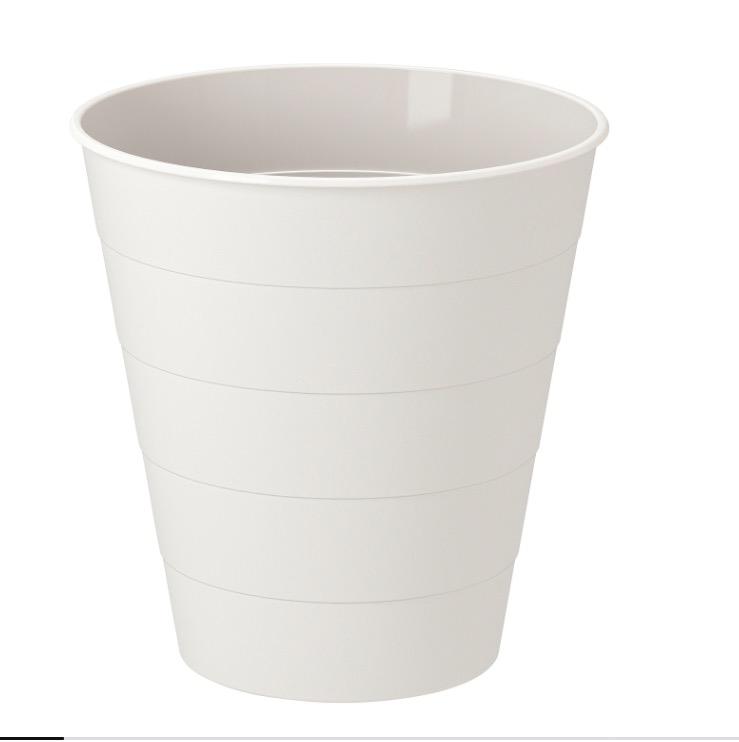 FNISS 芬尼斯 垃圾桶 白色 10 公升