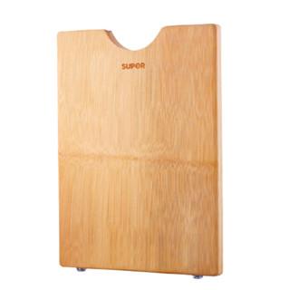 SUPOR 苏泊尔 苏泊尔菜板家用砧板整竹实木切菜案板防开裂厨房和面板擀面板刀板