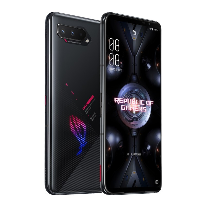 ROG 玩家国度 游戏手机5 华硕5G腾讯深度定制 电竞游戏手机 暗影黑 12GB+256GB