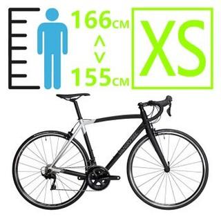 迪卡侬官方 骑行弯把赛车22速禧玛诺Ultra900公路车自行车RC 19款XS