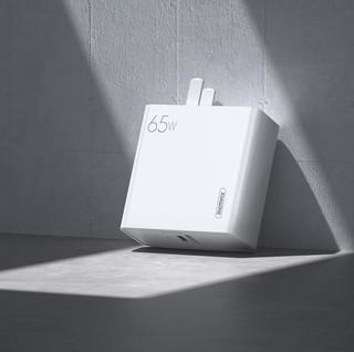 REMAX 睿量 RP-U50 氮化镓手机充电器 Type-C 65W 白色