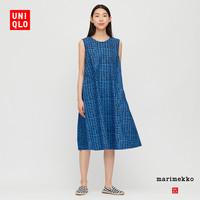 优衣库 女装 Marimekko 全棉A字型连衣裙 427923
