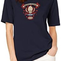 Scotch & Soda 女士短袖T恤,饰有炫酷图案