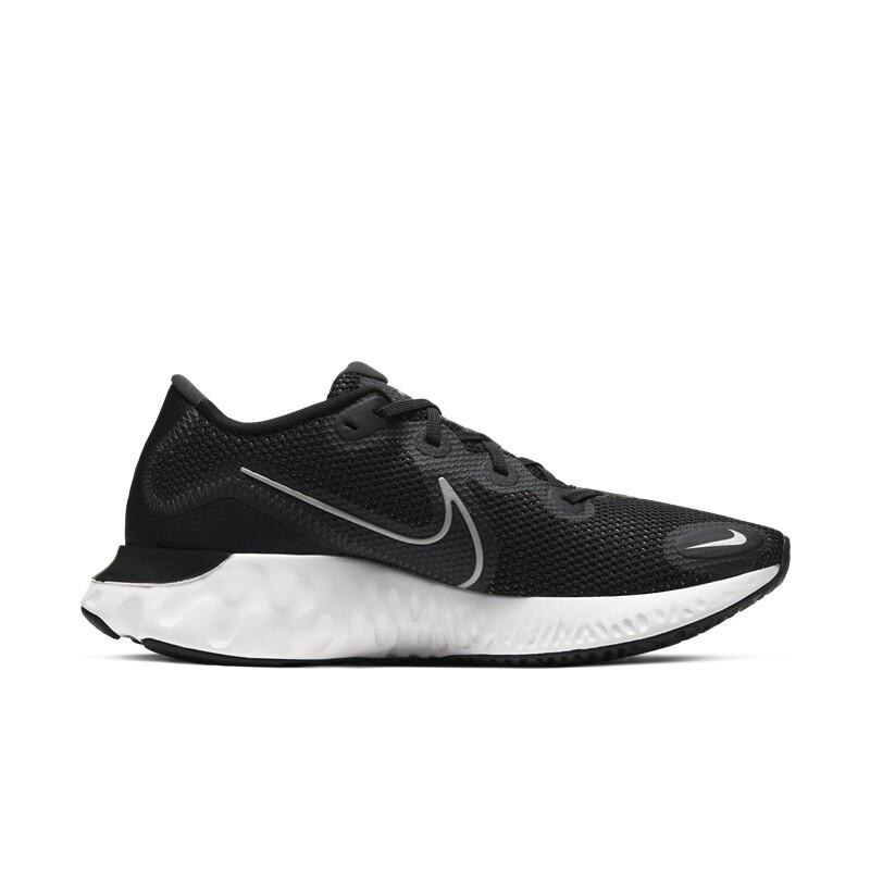 NIKE 耐克 Renew Run 男子跑鞋 CK6357-002 黑白 42