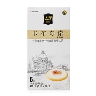 有券的上 : G7 COFFEE 中原咖啡 G7 卡布奇诺 摩卡味 咖啡粉 108g
