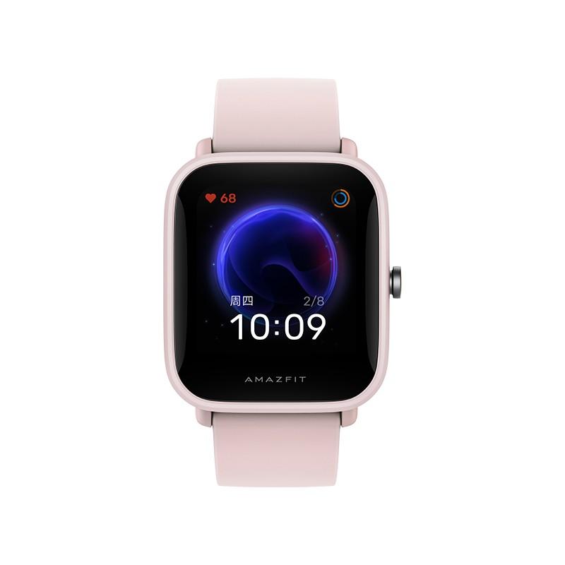 AMAZFIT 华米 Amazfit Pop 运动智能手表(9天长续航 50米防水 女性生理周期管理 心率 血氧 睡眠监测 NFC)樱粉