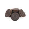 真巧 夹心曲奇饼干 巧克力味 300g