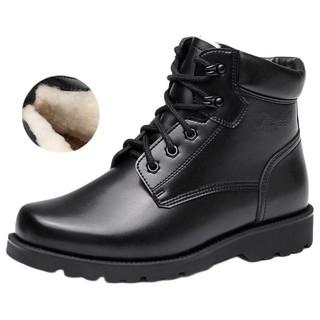强人3515男靴冬季加厚羊毛靴保暖棉鞋加绒高帮鞋男雪地靴棉靴子男