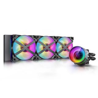 DEEPCOOL 九州风神 堡垒 360EX RGB  360mm 一体式水冷散热器