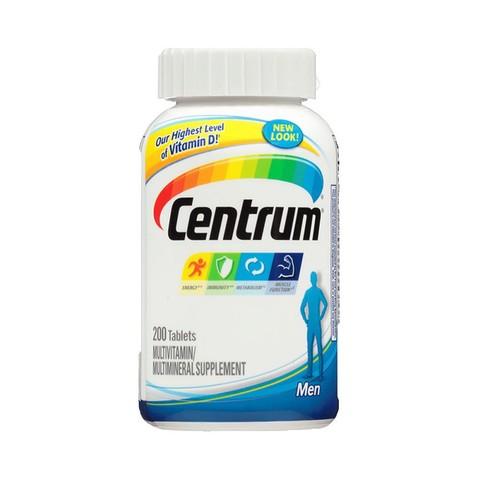 CENTRUM 善存 男士复合维生素(美版) 200粒